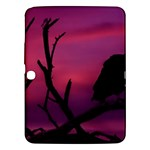 Vultures At Top Of Tree Silhouette Illustration Samsung Galaxy Tab 3 (10.1 ) P5200 Hardshell Case