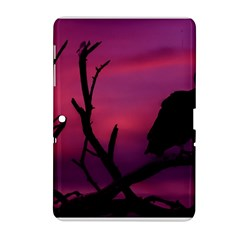 Vultures At Top Of Tree Silhouette Illustration Samsung Galaxy Tab 2 (10 1 ) P5100 Hardshell Case