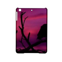 Vultures At Top Of Tree Silhouette Illustration Ipad Mini 2 Hardshell Cases by dflcprints