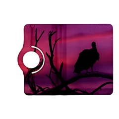 Vultures At Top Of Tree Silhouette Illustration Kindle Fire Hd (2013) Flip 360 Case by dflcprints