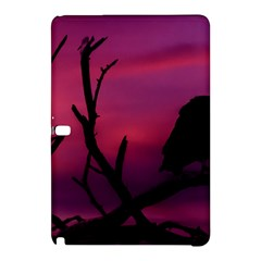 Vultures At Top Of Tree Silhouette Illustration Samsung Galaxy Tab Pro 10 1 Hardshell Case