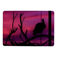 Vultures At Top Of Tree Silhouette Illustration Samsung Galaxy Tab Pro 10 1  Flip Case by dflcprints