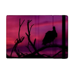 Vultures At Top Of Tree Silhouette Illustration Ipad Mini 2 Flip Cases by dflcprints