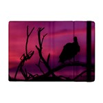Vultures At Top Of Tree Silhouette Illustration iPad Mini 2 Flip Cases