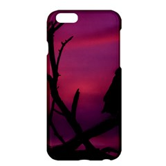 Vultures At Top Of Tree Silhouette Illustration Apple Iphone 6 Plus/6s Plus Hardshell Case by dflcprints
