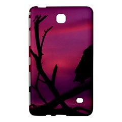 Vultures At Top Of Tree Silhouette Illustration Samsung Galaxy Tab 4 (8 ) Hardshell Case  by dflcprints