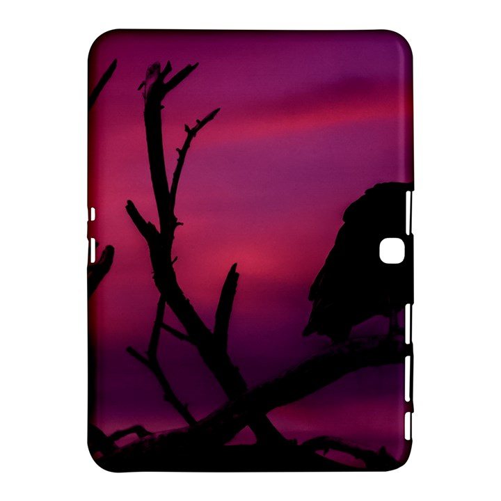 Vultures At Top Of Tree Silhouette Illustration Samsung Galaxy Tab 4 (10.1 ) Hardshell Case