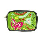Green Organic Abstract Coin Purse Front