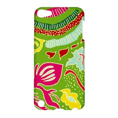 Green Organic Abstract Apple Ipod Touch 5 Hardshell Case by DanaeStudio
