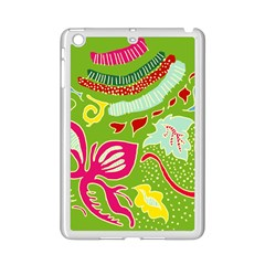Green Organic Abstract Ipad Mini 2 Enamel Coated Cases by DanaeStudio