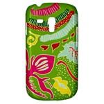 Green Organic Abstract Samsung Galaxy S3 MINI I8190 Hardshell Case