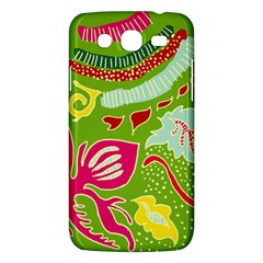 Green Organic Abstract Samsung Galaxy Mega 5 8 I9152 Hardshell Case  by DanaeStudio