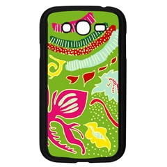 Green Organic Abstract Samsung Galaxy Grand Duos I9082 Case (black) by DanaeStudio