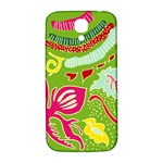 Green Organic Abstract Samsung Galaxy S4 I9500/I9505  Hardshell Back Case Front