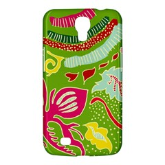 Green Organic Abstract Samsung Galaxy Mega 6 3  I9200 Hardshell Case by DanaeStudio