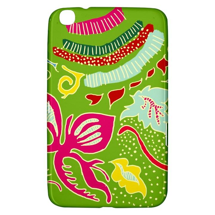 Green Organic Abstract Samsung Galaxy Tab 3 (8 ) T3100 Hardshell Case