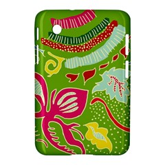 Green Organic Abstract Samsung Galaxy Tab 2 (7 ) P3100 Hardshell Case