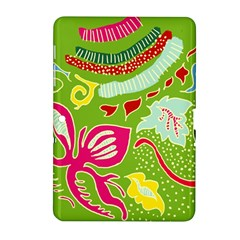 Green Organic Abstract Samsung Galaxy Tab 2 (10 1 ) P5100 Hardshell Case