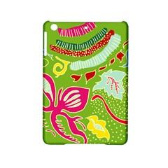 Green Organic Abstract Ipad Mini 2 Hardshell Cases by DanaeStudio