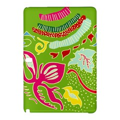 Green Organic Abstract Samsung Galaxy Tab Pro 10 1 Hardshell Case by DanaeStudio