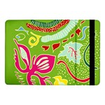 Green Organic Abstract Samsung Galaxy Tab Pro 10.1  Flip Case Front