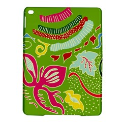 Green Organic Abstract iPad Air 2 Hardshell Cases
