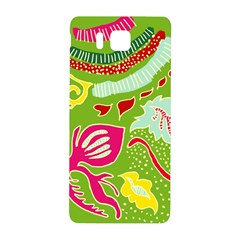 Green Organic Abstract Samsung Galaxy Alpha Hardshell Back Case by DanaeStudio