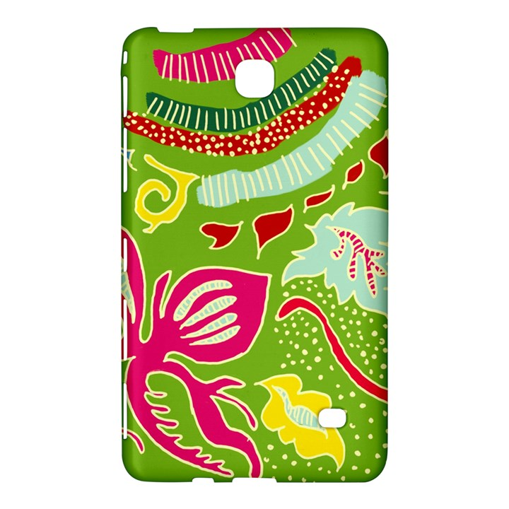 Green Organic Abstract Samsung Galaxy Tab 4 (8 ) Hardshell Case