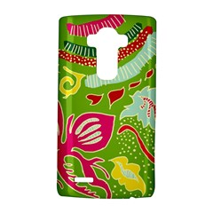 Green Organic Abstract Lg G4 Hardshell Case by DanaeStudio