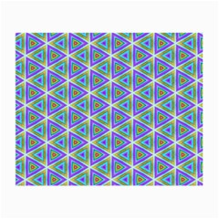 Colorful Retro Geometric Pattern Small Glasses Cloth by DanaeStudio