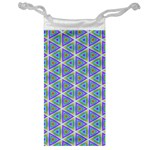 Colorful Retro Geometric Pattern Jewelry Bags Front