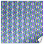 Colorful Retro Geometric Pattern Canvas 16  x 16   16 x16 Canvas - 1