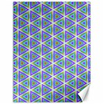 Colorful Retro Geometric Pattern Canvas 18  x 24   24 x18 Canvas - 1