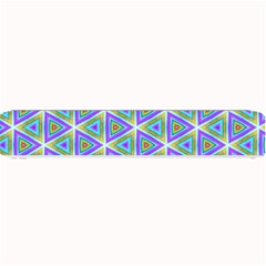 Colorful Retro Geometric Pattern Small Bar Mats by DanaeStudio