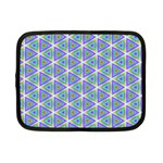 Colorful Retro Geometric Pattern Netbook Case (Small)  Front