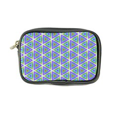 Colorful Retro Geometric Pattern Coin Purse