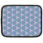 Colorful Retro Geometric Pattern Netbook Case (XL)  Front