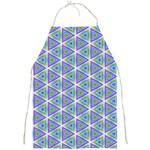 Colorful Retro Geometric Pattern Full Print Aprons Front