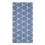 Colorful Retro Geometric Pattern Shower Curtain 36  x 72  (Stall)  33.26 x66.24 Curtain