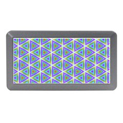 Colorful Retro Geometric Pattern Memory Card Reader (mini)