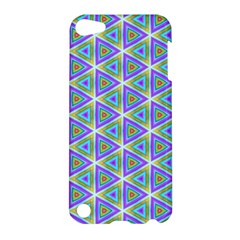 Colorful Retro Geometric Pattern Apple Ipod Touch 5 Hardshell Case
