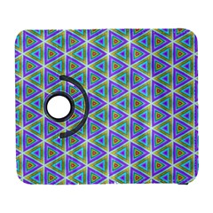 Colorful Retro Geometric Pattern Samsung Galaxy S  Iii Flip 360 Case by DanaeStudio