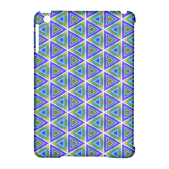 Colorful Retro Geometric Pattern Apple Ipad Mini Hardshell Case (compatible With Smart Cover) by DanaeStudio