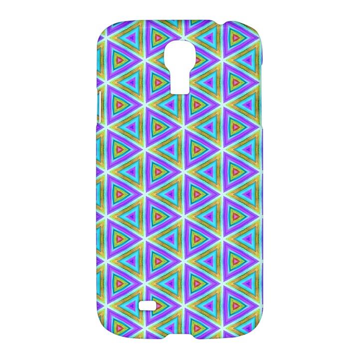 Colorful Retro Geometric Pattern Samsung Galaxy S4 I9500/I9505 Hardshell Case