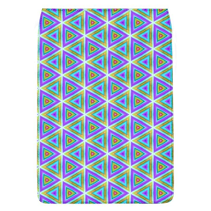 Colorful Retro Geometric Pattern Flap Covers (L)