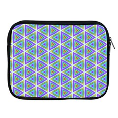 Colorful Retro Geometric Pattern Apple Ipad 2/3/4 Zipper Cases