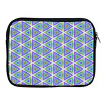 Colorful Retro Geometric Pattern Apple iPad 2/3/4 Zipper Cases Front