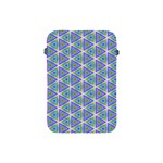 Colorful Retro Geometric Pattern Apple iPad Mini Protective Soft Cases Front