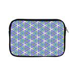 Colorful Retro Geometric Pattern Apple iPad Mini Zipper Cases Front