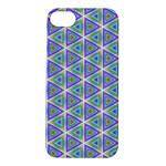 Colorful Retro Geometric Pattern Apple iPhone 5S/ SE Hardshell Case